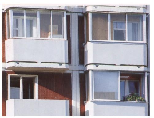 Остекление и отделка балконов и лоджий, замена дверей и окон.